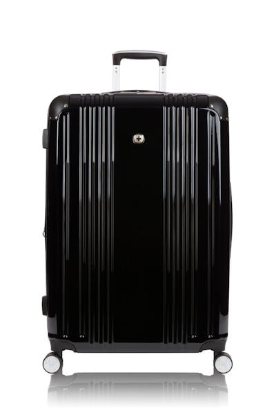 "Swissgear 7786 27"" Expandable Hardside Spinner Luggage - Black"
