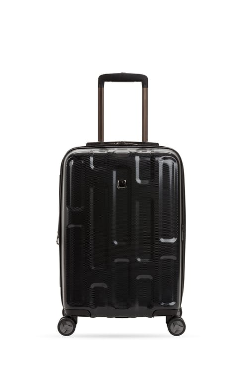 """Swissgear 7796 20"""" USB Expandable Carry On Hardside Spinner Luggage Lightweight ABS construction"""