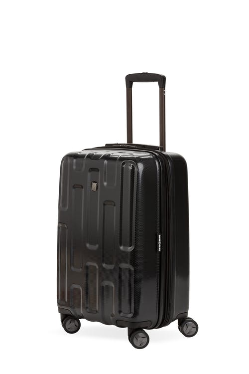 """Swissgear 7796 20"""" USB Expandable Carry On Hardside Spinner Luggage"""