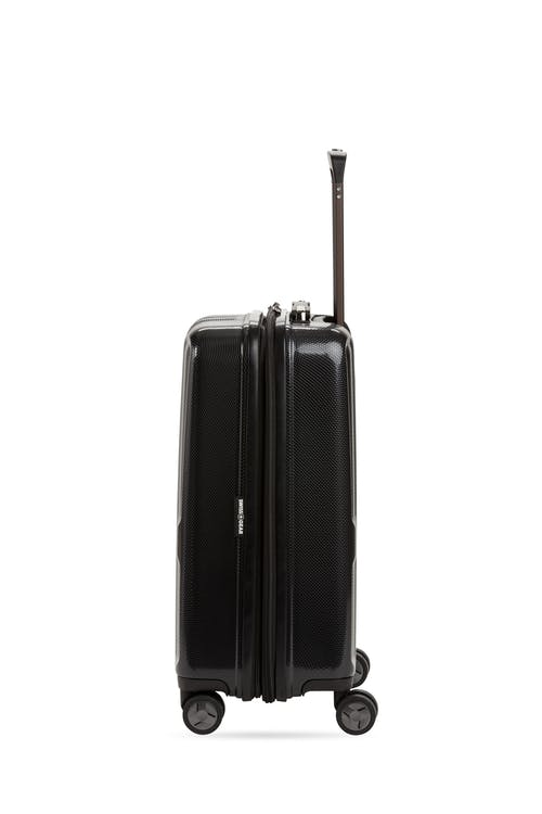 """Swissgear 7796 20"""" USB Expandable Carry On Hardside Spinner Luggage Heavy duty metal zippers"""