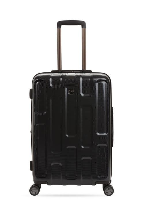 "Swissgear 7796 24"" Expandable Hardside Spinner Luggage Top co-molded grab handle"
