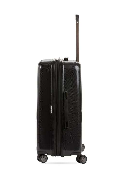 "Swissgear 7796 24"" Expandable Hardside Spinner Luggage Heavy duty metal zippers"