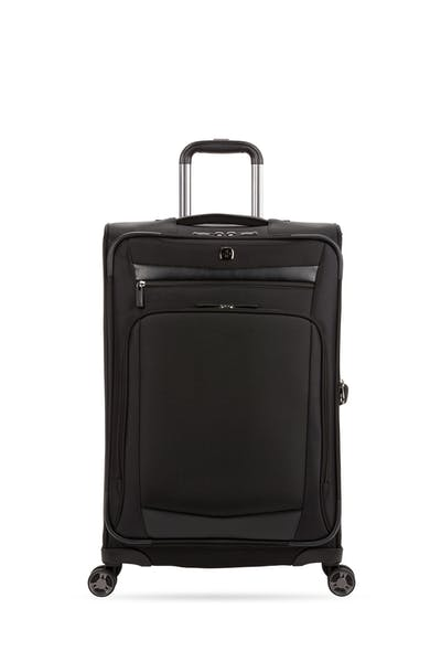 """Swissgear 7811 24"""" Expandable Spinner Luggage - Black"""