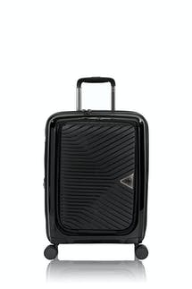 """Swissgear 8836 20"""" Expandable Laptop Carry On Hardside Spinner Luggage - Black"""
