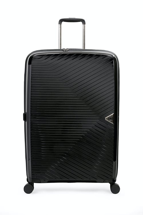 "Swissgear 8836 28"" Expandable Hardside Spinner Luggage Molded grab handle"