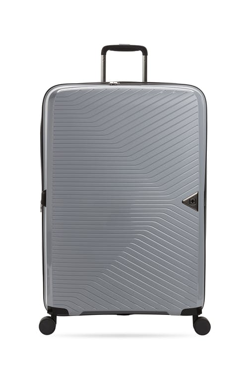 """Swissgear 8836 28"""" Geneva Expandable Hardside Spinner Luggage Front View"""