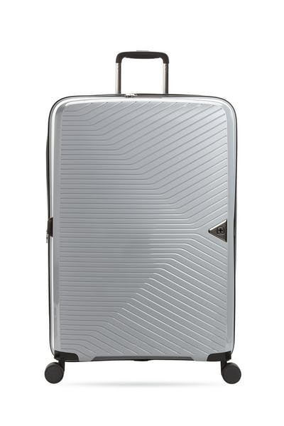 """Swissgear 8836 28"""" Expandable Hardside Spinner Luggage - Textured Gray"""
