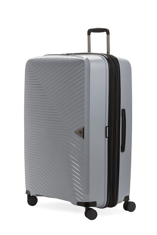 "Swissgear 8836 28"" Geneva Expandable Hardside Spinner Luggage - Textured Gray"