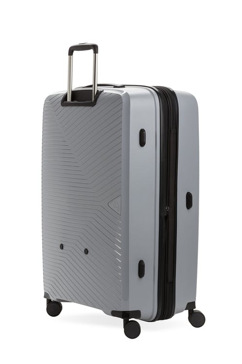 "Swissgear 8836 28"" Geneva Expandable Hardside Spinner Luggage Back View"