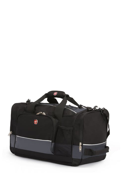 "Swissgear 9000 20"" Apex Duffel Bag - Black/Gray"