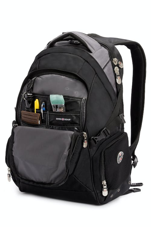 SWISSGEAR 9275 Laptop Backpack Front organizer compartment