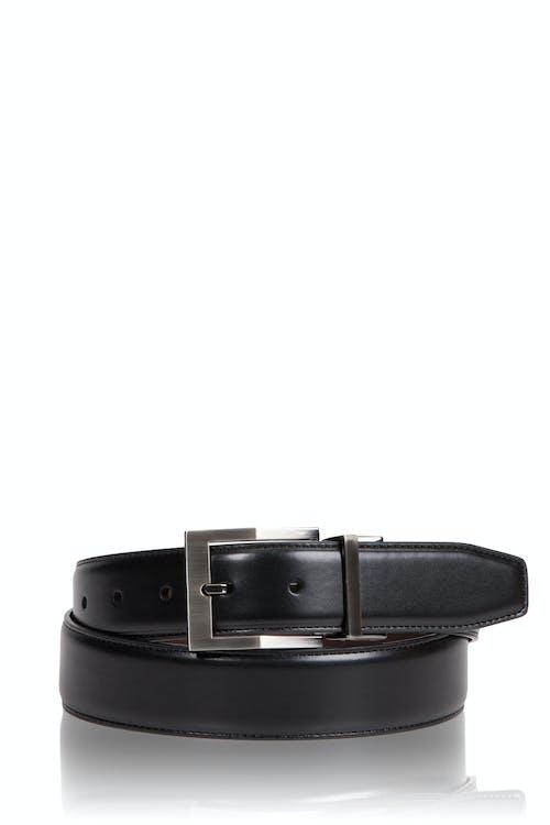 Swissgear Reversible Contemporary Buckle Belt - Black
