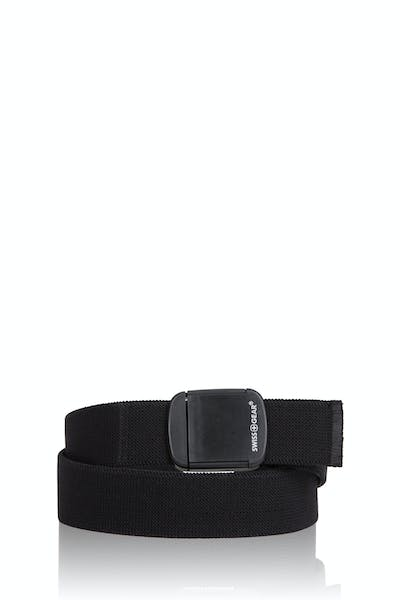 Swissgear Stretch Non-Metallic Clip Buckle - Black