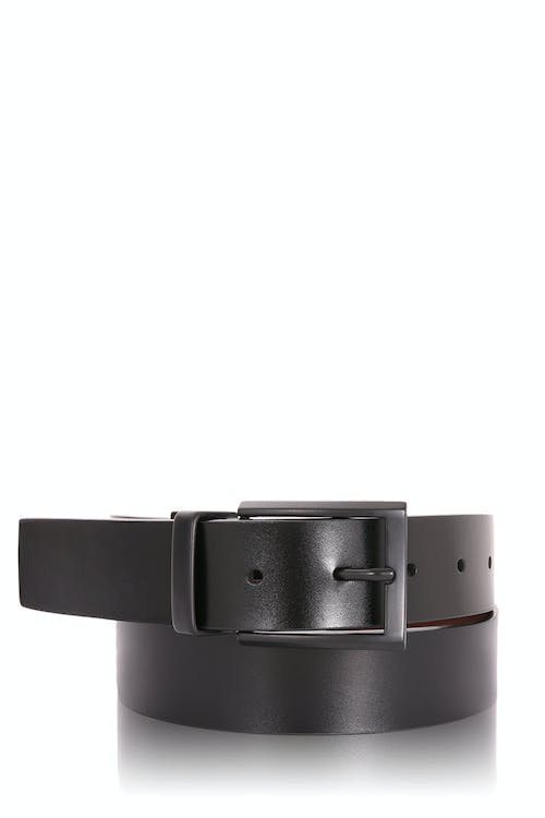 Swissgear Reversible Leather Belt - Black Brown