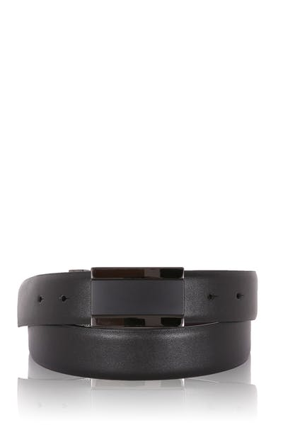 Swissgear Men's Plaque Buckle Belt - Black