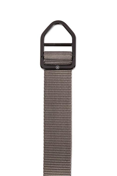 Swissgear Nylon Belt - D-ring belt buckle
