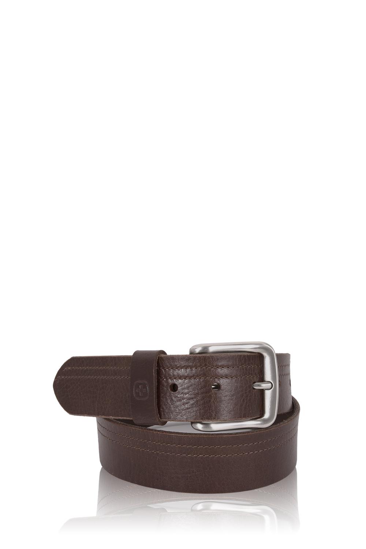 SWISSGEAR Square Buckle Brown Italian leather - X Large