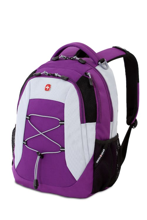 Swissgear 5933 Backpack in Purple Yoga/Silver silver