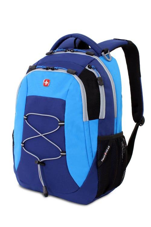 Swissgear 5933 Backpack in Navy Netting/Cyan Trophy
