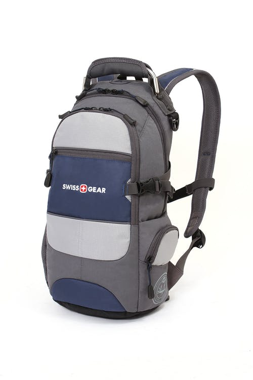 SWISSGEAR 1651 CITY PACK BACKPACK - BLUE GRAY