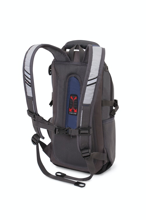 SWISSGEAR 1651 CITY PACK BACKPACK PADDED AIRFLOW BACK PANEL WITH MESH FABRIC