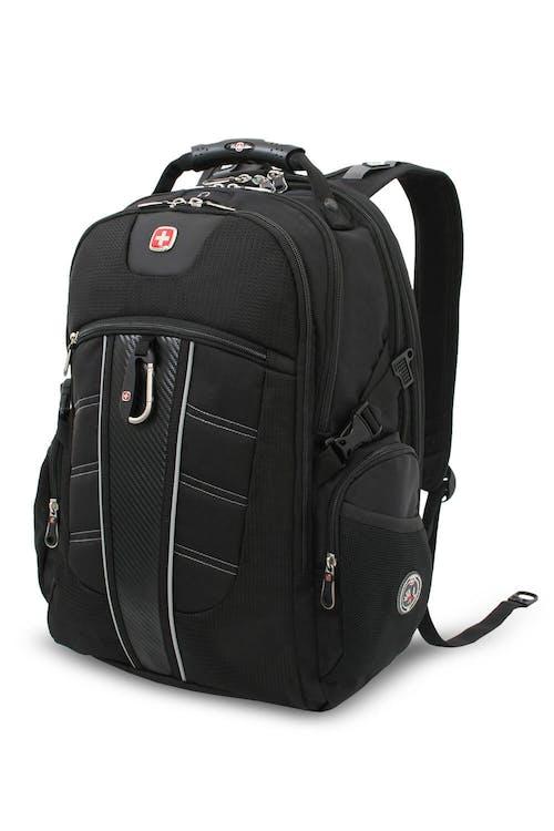 SWISSGEAR 1753 ScanSmart TSA Laptop Backpack - Black
