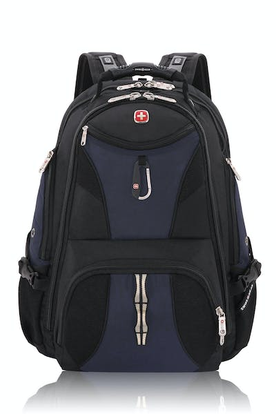 Swissgear 1900 ScanSmart TSA Laptop Backpack - Noir Satin