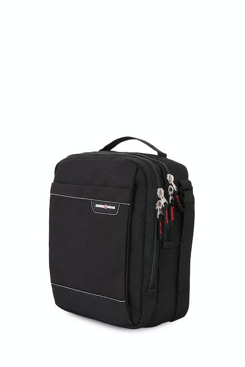 Swissgear 2310 Vertical Boarding Bag - Black Cod/Swiss Red