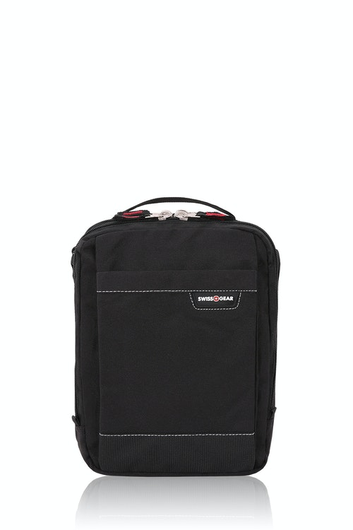 SWISSGEAR 2310 Vertical Boarding Bag with iPad Sleeve Black Cod/Swiss Red