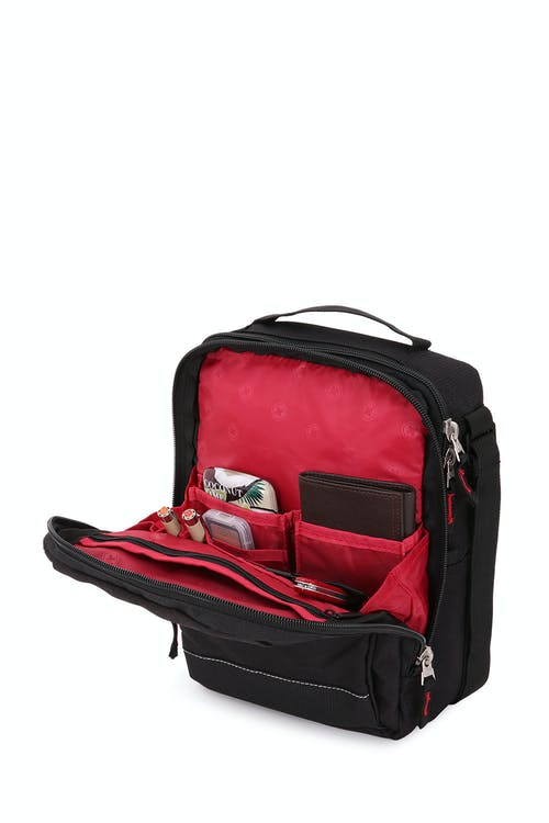 SWISSGEAR 2310 Vertical Boarding Bag with iPad Sleeve Organizer compartment with zippered slip pocket