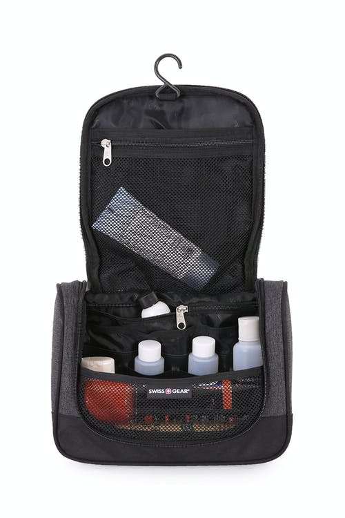 Swissgear 2363 Dopp Kit Large-opening main compartment