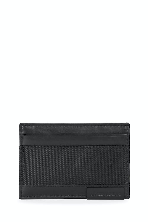 SWISSGEAR Nylon Inlay Bifold - Black