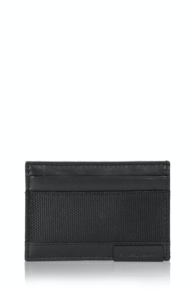 SWISSGEAR Nylon Inlay Bifold - Black