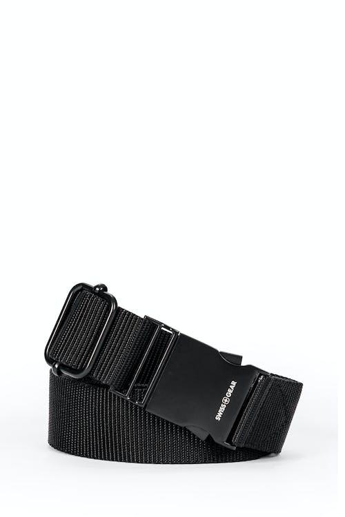 Swissgear Adjustable Webbing Belt - Black