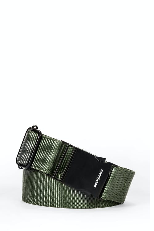 Swissgear Adjustable Webbing Belt - Olive