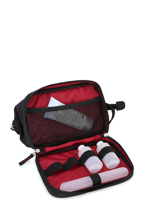 Swissgear 2612 Dopp Kit Bottom zippered compartment