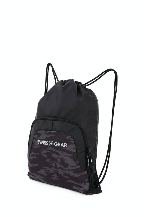 Swissgear 2615 Cinch Sack - Black cod/camo
