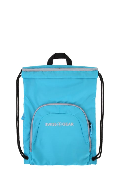 Swissgear 2615 Cinch Sack Front zippered organizer pocket