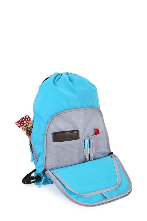 Swissgear 2615 Cinch Sack Interior zippered pocket