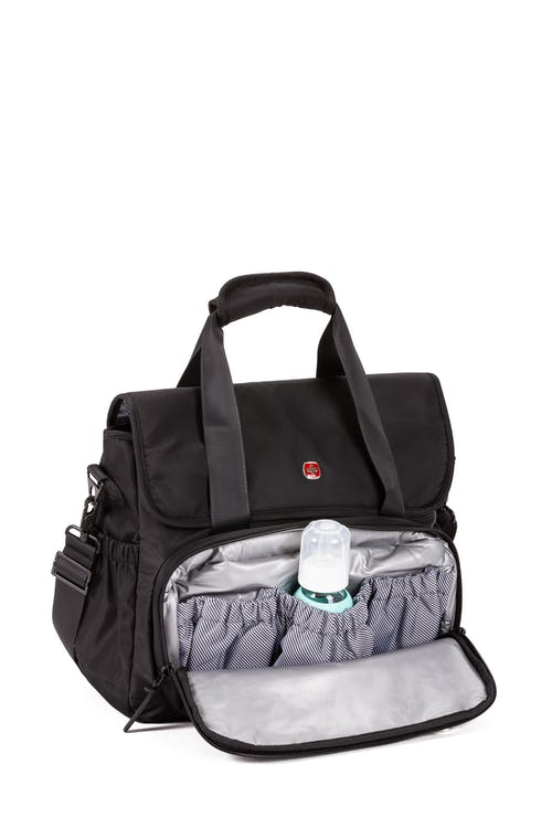 Swissgear Diaper Tote Bag Front zip insulated cooler compartment