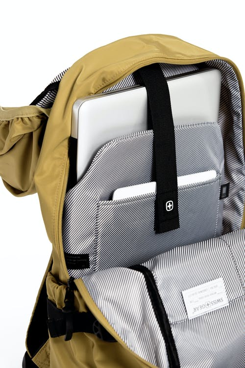 "Swissgear 2703 Laptop Backpack Internal padded laptop pocket that fits most 15"" laptops"