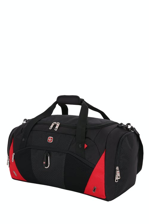 "Swissgear 1900 21"" Duffel Bag - Black/Red"