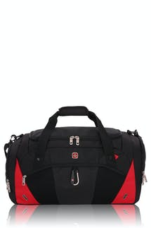 Swissgear 1900 Duffel Bag - Black/Red
