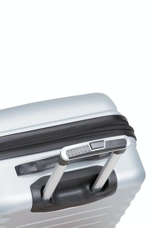 Swissgear 3230 Expandable Hardside Luggage Deluxe aircraft aluminum locking handle