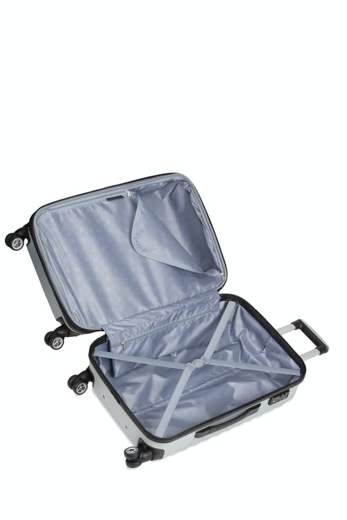 "SWISSGEAR 3230 24"" Expandable Hardside Luggage - Open View"