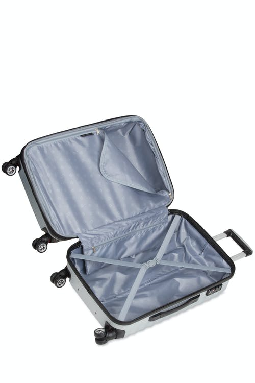 "SWISSGEAR 3230 27"" Expandable Hardside Luggage - Open View"