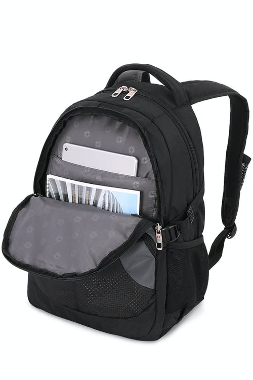 SWISSALPS 3259 Laptop Backpack Organizer compartment