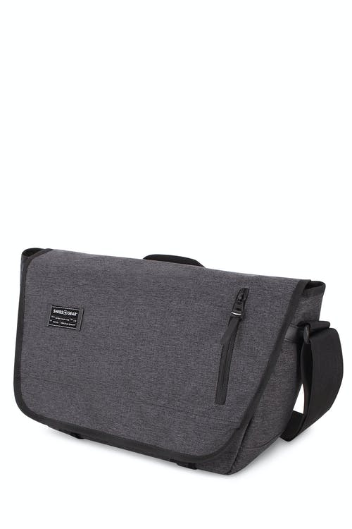 Swissgear 5302 Getaway Messenger Bag - Heather Gray