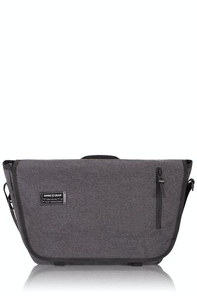 Swissgear 5302 Getaway Laptop Messenger Bag - Heather Gray