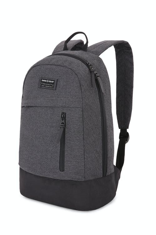 Swissgear 5319 Getaway Daypack Laptop Backpack - Heather Gray 7ed5a04b08964